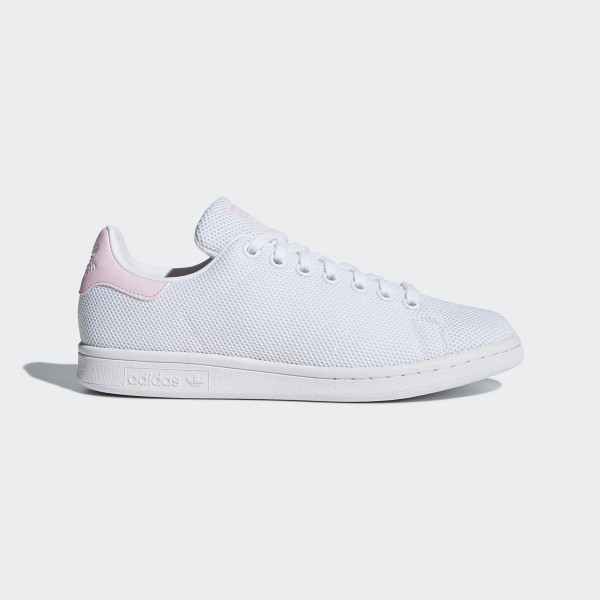adidas Originals STAN SMITH Damen Weiß/Weiß/Rosa...