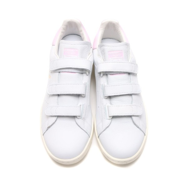 adidas Originals Stan Smith Cf Weiß/Weiß/Rosa bc0416