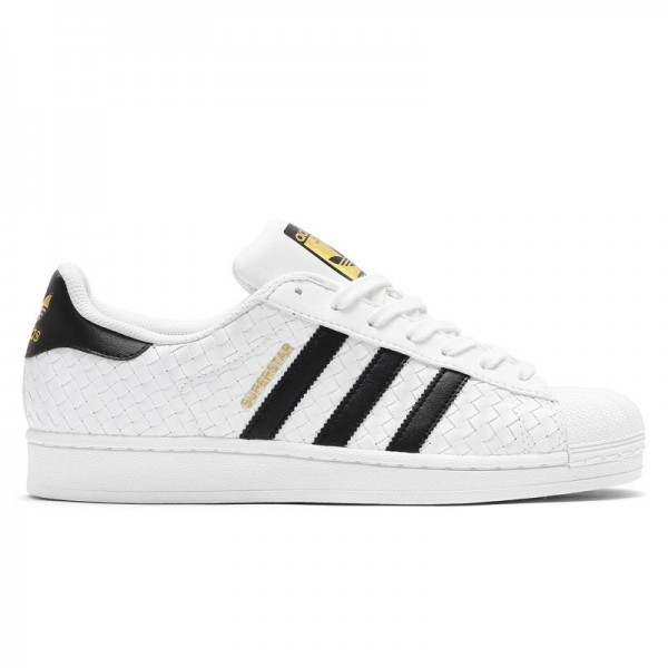 adidas Originals SUPERSTAR Weiß/Schwarz/Gold bb11...