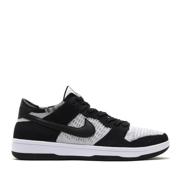 Nike Dunk Flyknit Weiß/Schwarz-Grau 917746-100