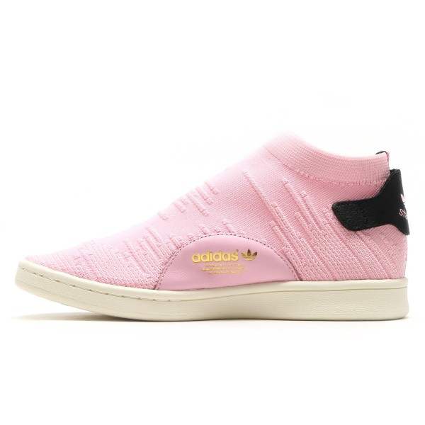 adidas Stan Smith Sock Pk Damen Rosa by9250