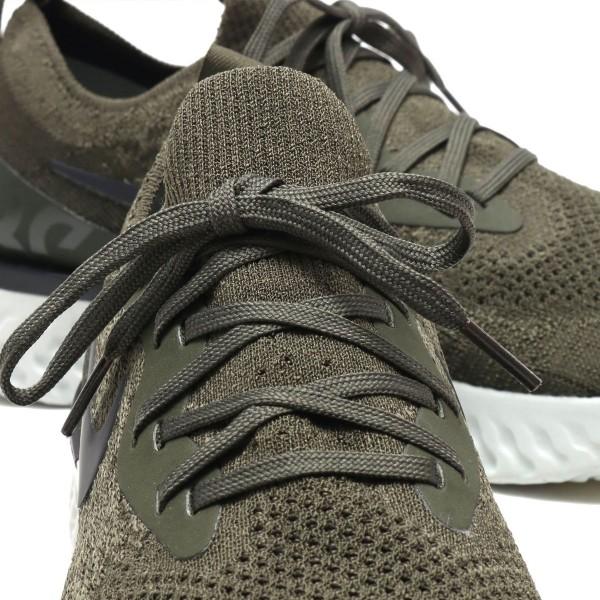 Nike Epic React Flyknit Olive/Schwarz-Orange-Silber aq0067-300/aq0070-300