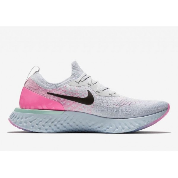 Nike Epic React Flyknit Laufen Grau/Schwarz AQ0067...