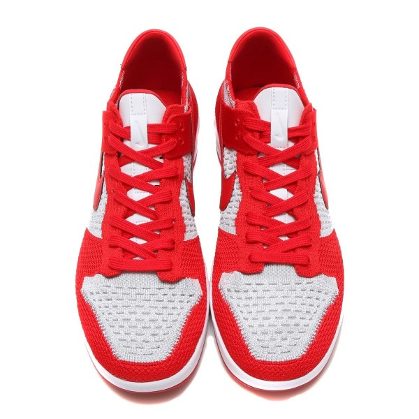 Nike Dunk Flyknit Rot/Weiß-Grau 917746-600