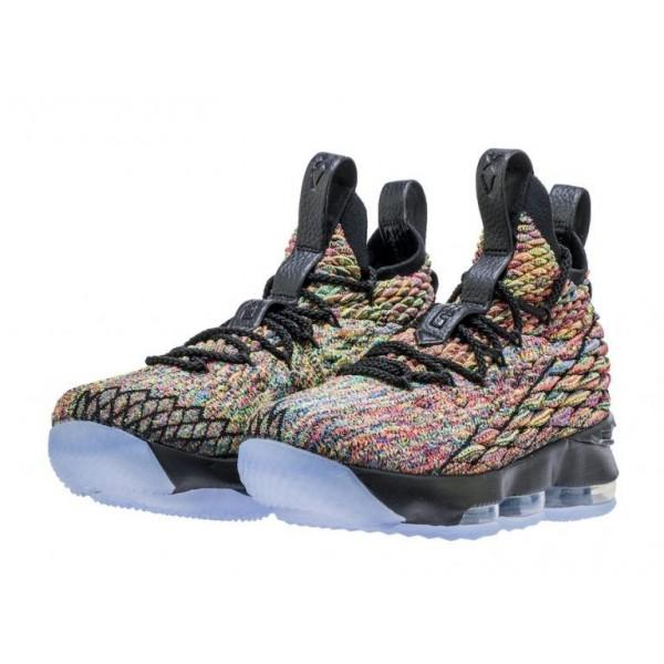 Nike LeBron 15 Fruity Pebbles Schwarz 897648-901
