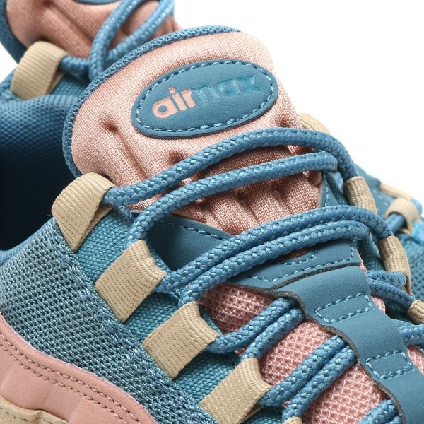 Nike Damen Air Max 95 Lx Blau/Blau-Mushroom aa1103-002