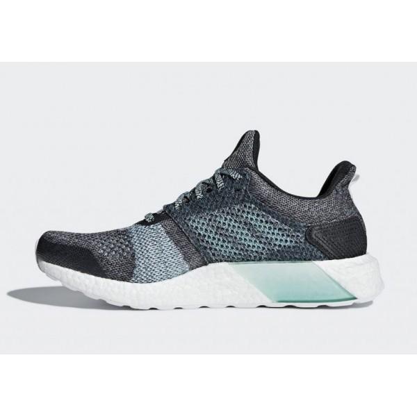 Adidas Herren Sneakers Ultra BOOST ST Laufen Schuhe Grau DB0925