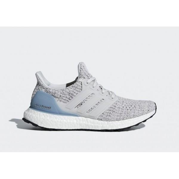 adidas Ultra Boost Damen Laufen Schuhe Grau/Weiß ...