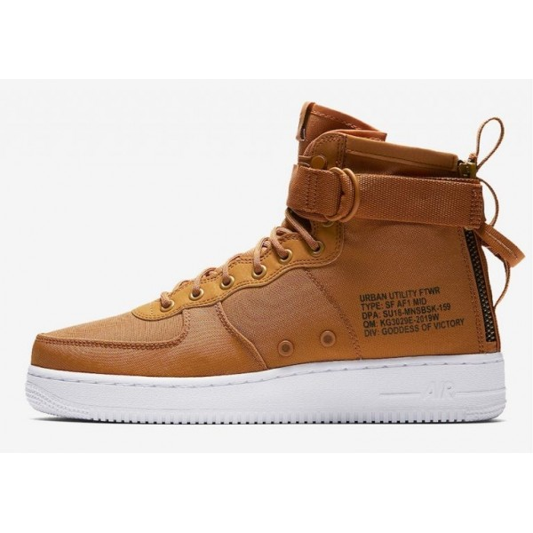 Nike SF Air Force 1 Mid Braun 917753-700