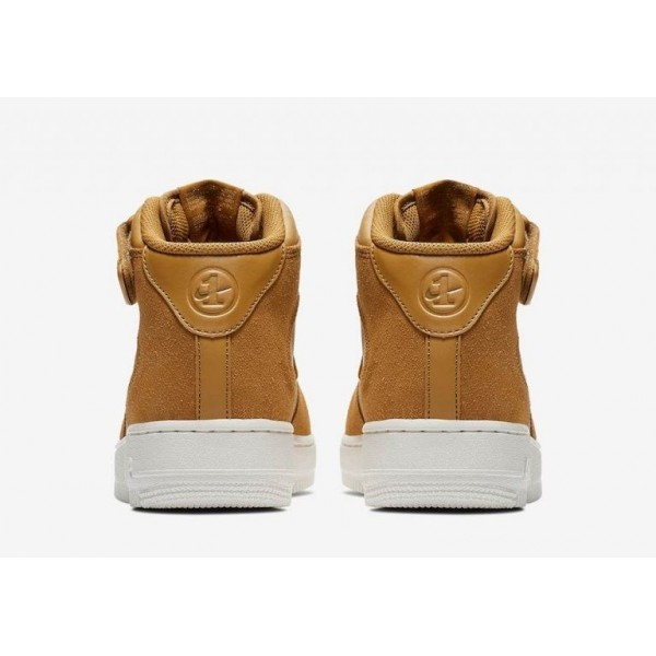 Nike Air Force 1 Mid Jewel Braun/Weiß 804609-200