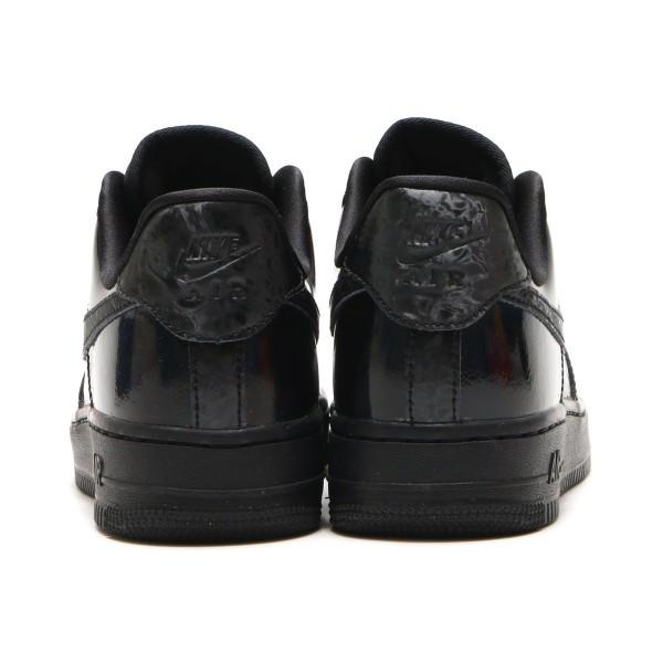 Nike Damen Air Force 1 '07 Lx Schwarz/Schwarz-Weiß 898889-009