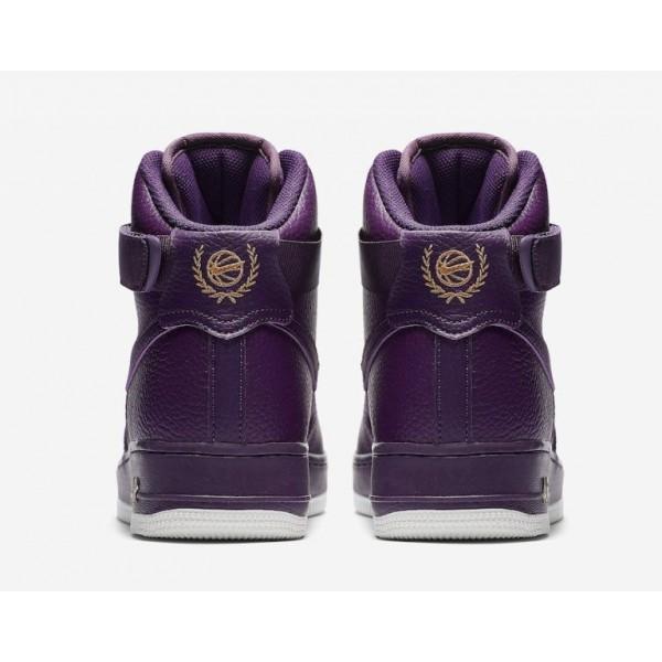 Nike Herren Air Force 1 High 07 Schuhe Lila 315121-500