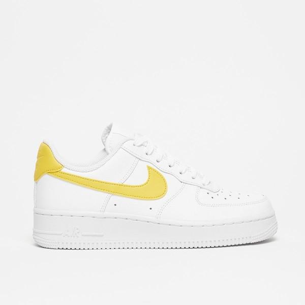 large discount new arrive genuine shoes Nike Damen Air Force 1 '07 Gelb Sneakers 896184-700