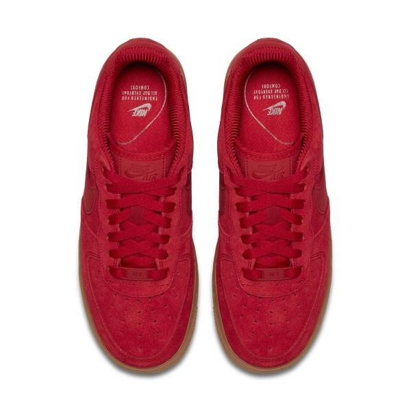 Nike Damen Air Force 1 '07 Se Rot/Rot-Braun 896184-601