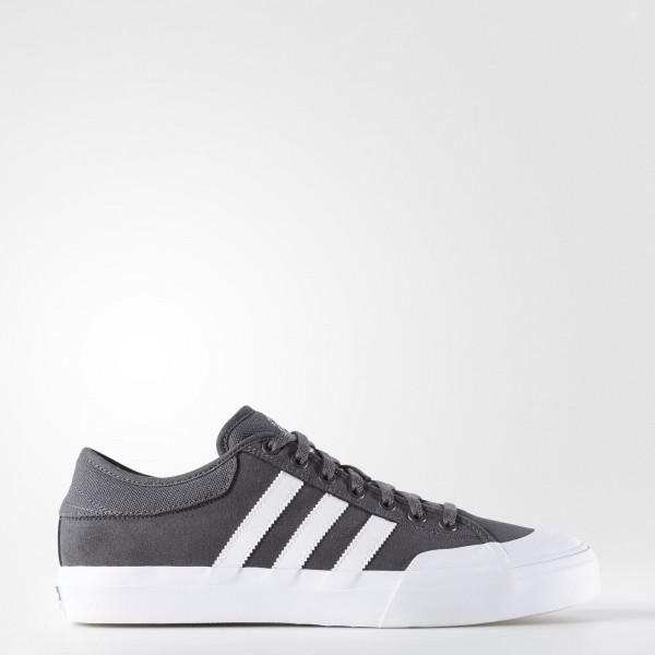 adidas Matchcourt ADV Grau Weiß Weiß Skateboard ...