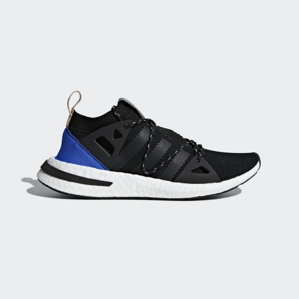 adidas Originals Arkyn Damen Schwarz Blau Laufen S...