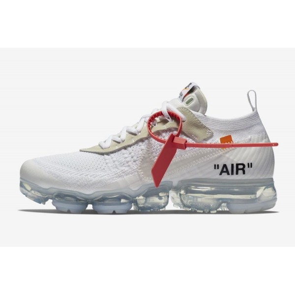 Off-White x Nike Air VaporMax 'Weiß/Schwarz/Orang...