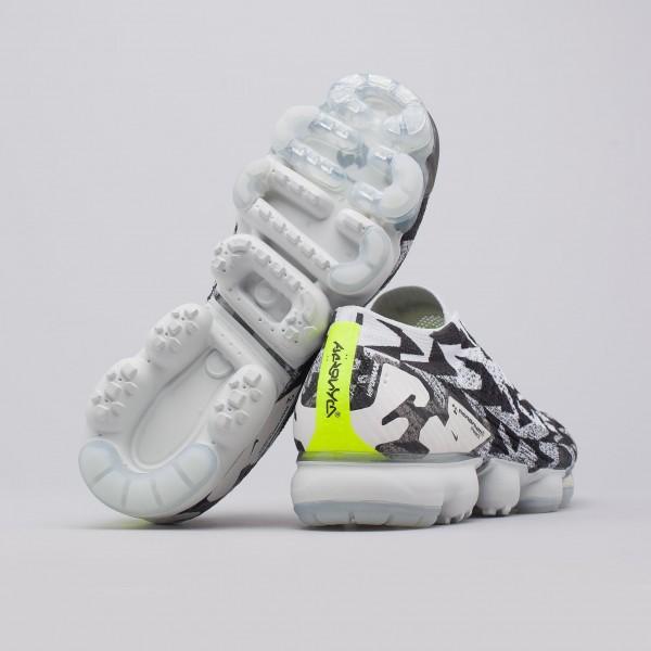 Nike X Acronym Air Vapormax Fk Moc 2 In Grau/Gelb Grün AQ0996-001