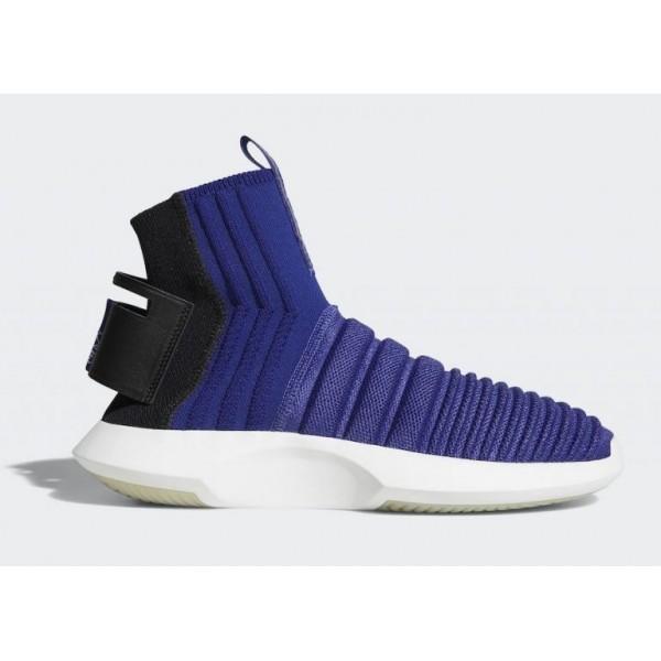 Adidas Crazy 1 ADV Sock PK Blau & Schwarz CQ10...