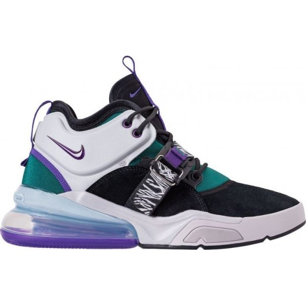 Nike Air Force 270 Schwarz Lila Basketball Herren ...