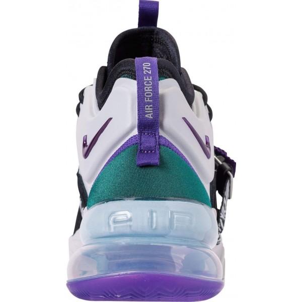 Nike Air Force 270 Schwarz Lila Basketball Herren AH6772-005