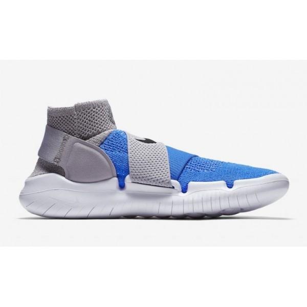 Herren Nike Free RN Motion Flyknit 2018 Blau/Grau ...