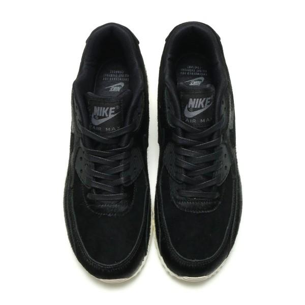 Nike Damen Air Max 90 Lx Schwarz/Schwarz-Grau-Beige 898512-006