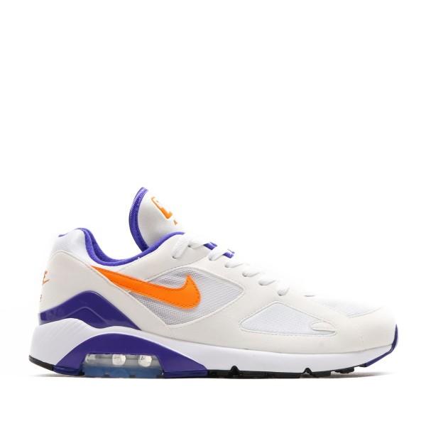 Nike Air Max 180 Weiß/Bright Ceramic-Blau 615287-...