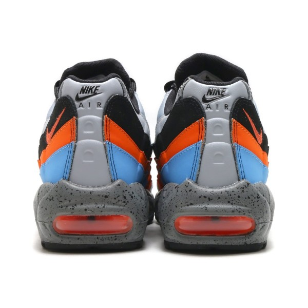 Nike Air Max 95 Prm Grau/Orange-Blau 538416-015