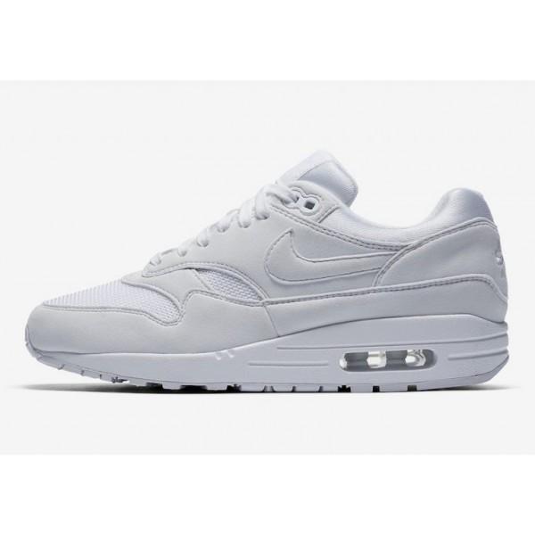 Nike Air Max 1 Weiß/Weiß-Grau Damen 319986-108