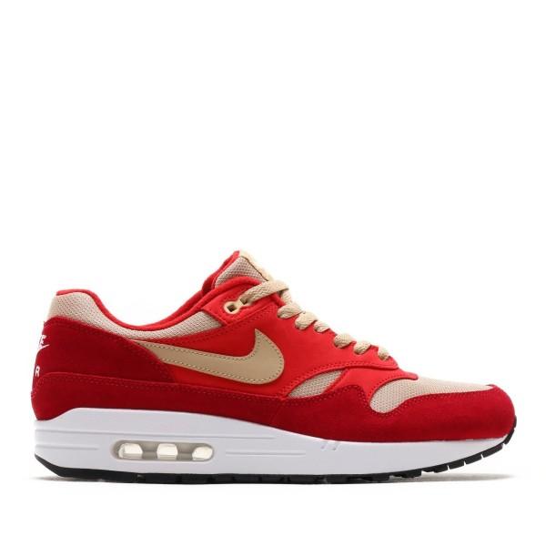 Nike Air Max 1 Premium Retro Rot/Mushroom-Rot-pale Vanilla 908366-600