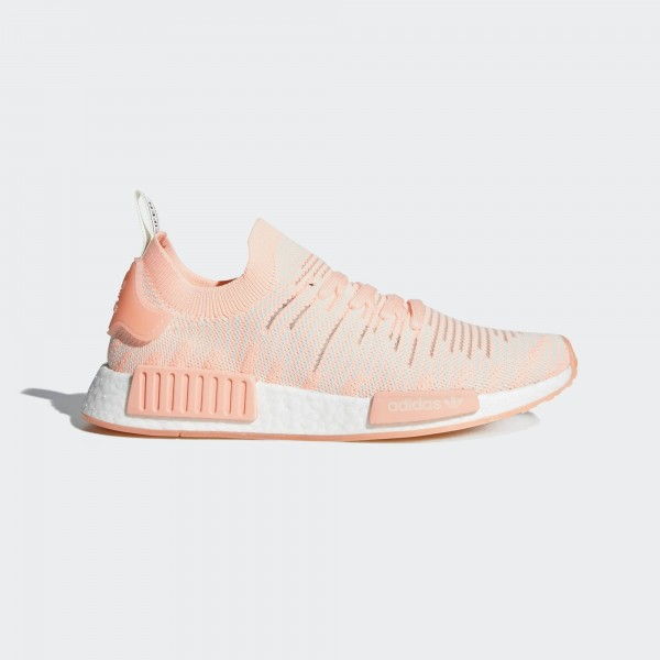 adidas NMD R1 Heather Orange/Weiß AQ1119