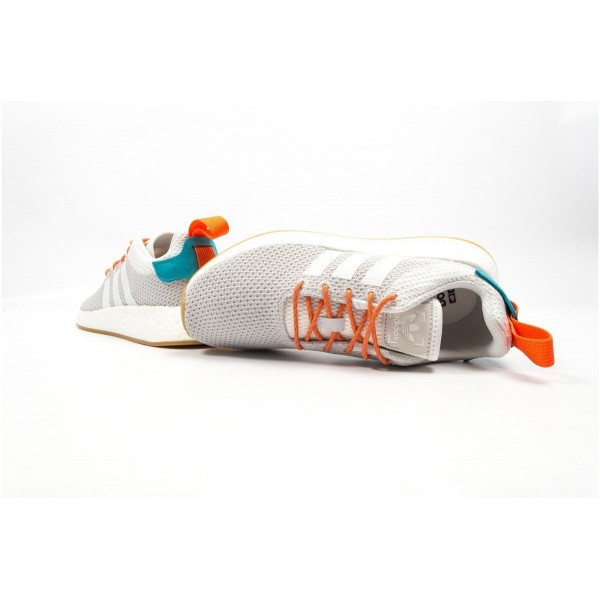 adidas Originals NMD R2 Sommer 'Atric' Grau/Weiß/Orange CQ3080