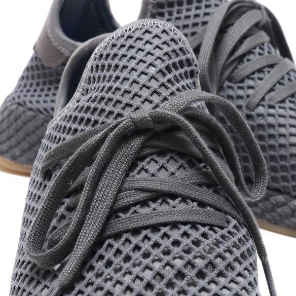 adidas Originals DEERUPT RUNNER Grau/Grau/Weiß cq2627