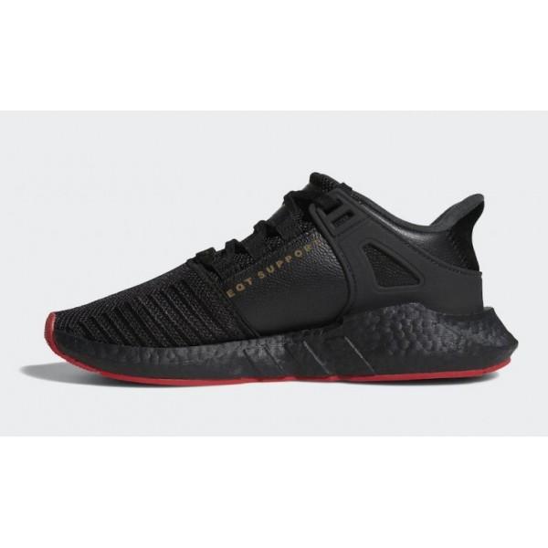 adidas Originals EQT Support 93/17 Schwarz Rot Carpet Pack Sneakers CQ2394