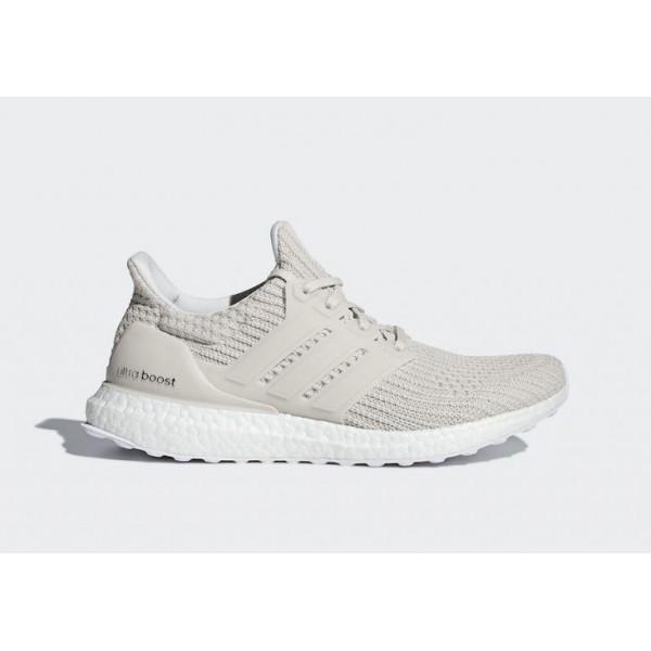 Adidas Laufen Ultra Boost 4.0 Chalk Pearl Grau Her...
