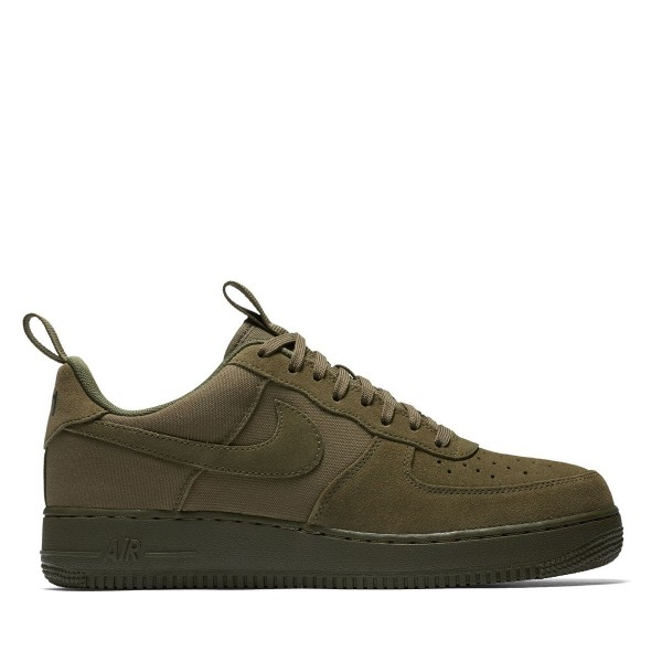 Nike Air Force 1 '07 Cnvs Olive/Olive-Orange 57992...