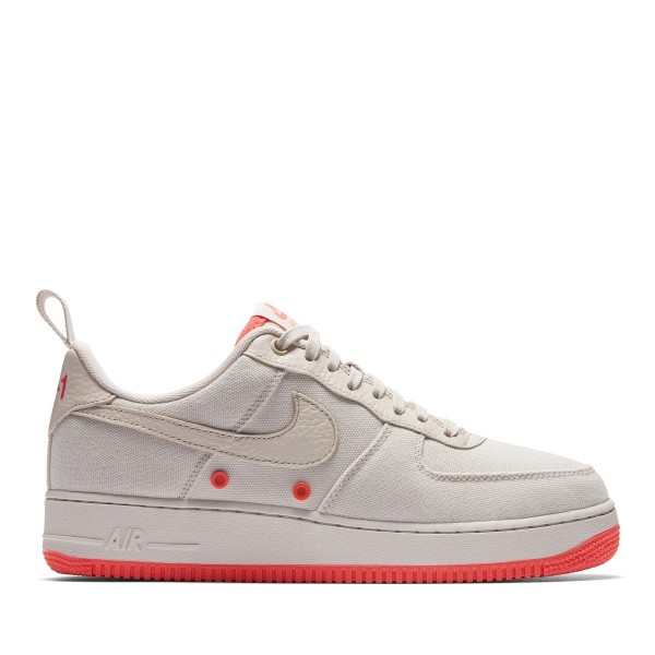 Nike Air Force 1 '07 Cnvs Grau/Grau-Rush Coral 579...