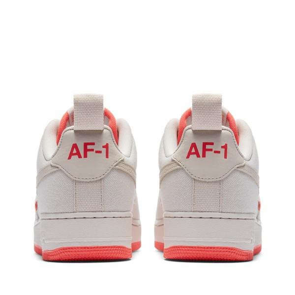 Nike Air Force 1 '07 Cnvs Grau/Grau-Rush Coral 579927-001