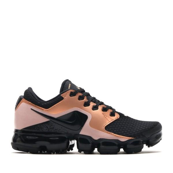 Nike Damen Air Vapormax Schwarz/Schwarz-Schwarz-Ro...