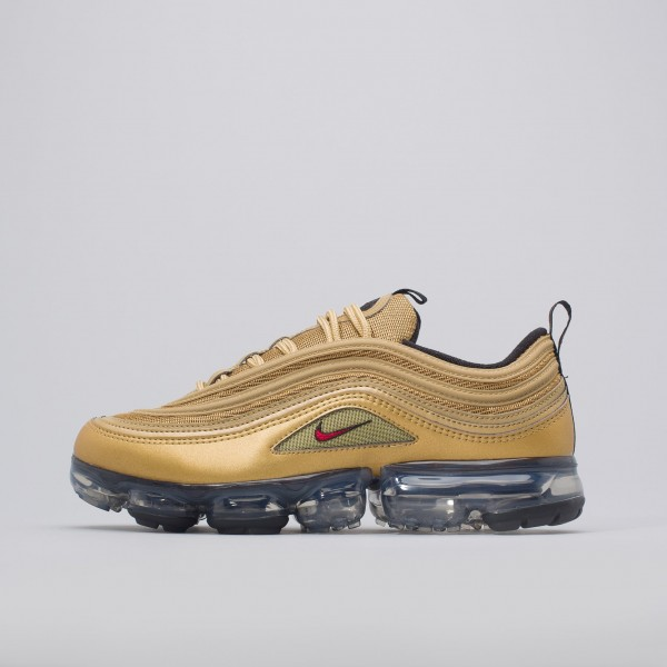 Nike Air Vapormax 97 In Metallisch Gold AJ7291-700