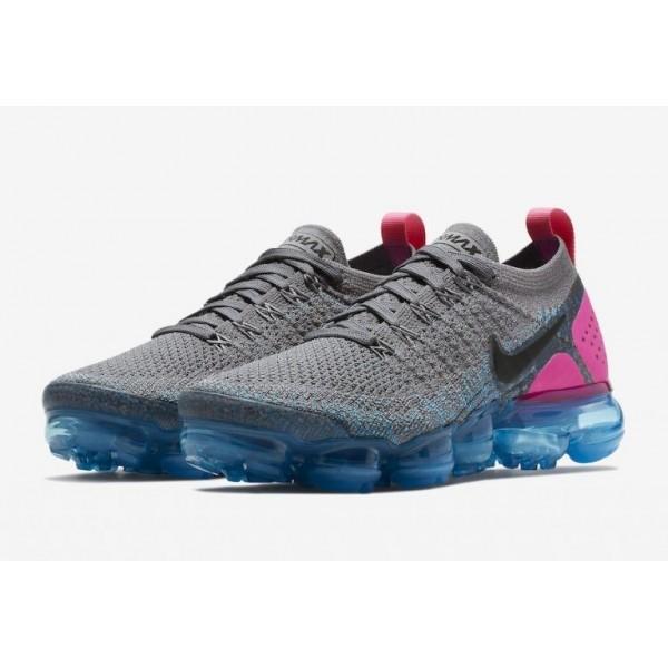 Nike Air VaporMax 2 Grau Blau Rosa 942843-004