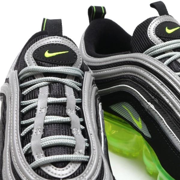 Nike Air Vapormax '97 Schwarz/Gelb-Metallisch Silber-Weiß aj7291-001