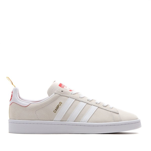 adidas Originals CAMPUS CNY Beige/Weiß/Rot db2568