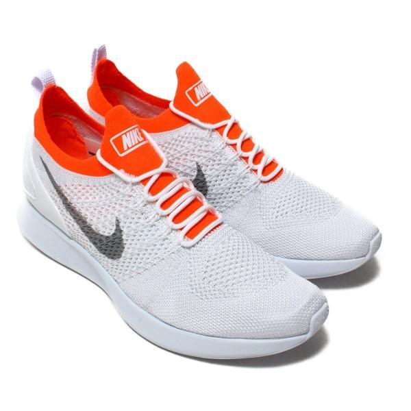 Nike Air Zoom Mariah Flyknit Racer Grau/Grau-Rot 918264-012