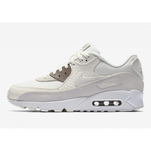 Nike Air Max 90 Premium Beige/Sepia Stone-Weiß 70...