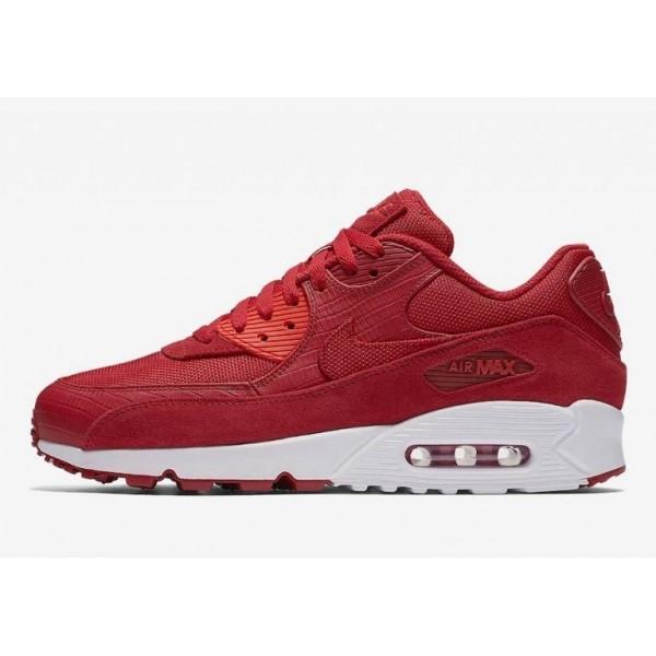 Nike Air Max 90 Premium Rot/Weiß 700155-602